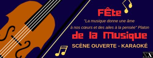 Scène ouverte - Fête de la musique