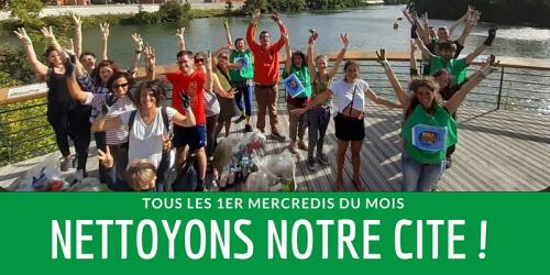 Nettoyage de rue à Toulouse (clean up)